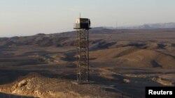 Osmatračnica u egipatskoj pustinji