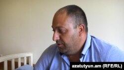 Аветик Саргсян в больнице рассказывает Радио Азатутюн подробности инцидента, 9 июля 2018 г․
