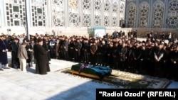 Маросими ҷанозаи генерал Сӯҳроб Қосимов