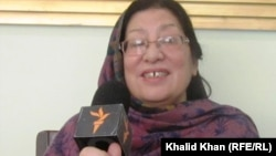 Peshawar: Salma Shahin, Pashto writer, poet and Research fellow talking to Radio mashaal