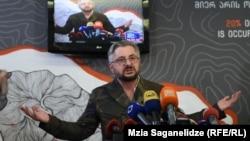Решением Страсбургского суда шокирован вышедший к журналистам в камуфляжном пиджаке Ника Гварамия