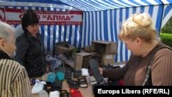 La piața din Tiraspol
