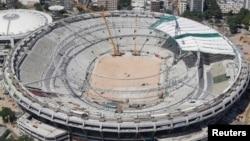 Так виглядав легендарний стадіон «Маракана» ще два місяці тому, 22 лютого 2013 року