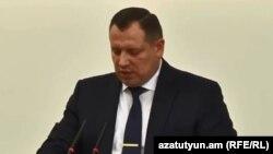 Председатель Следственного комитета Айк Григорян (архив)