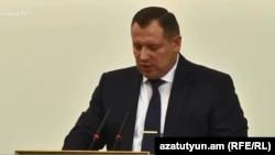 Председатель Следственного комитета Армении Айк Григорян (архив)