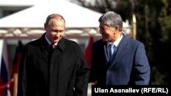 Владимир Путина жана Алмазбек Атамбаев (28-февраль, 2017-ж)
