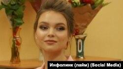 Юлия Полячихина на пресс-конференции в Чебоксарах
