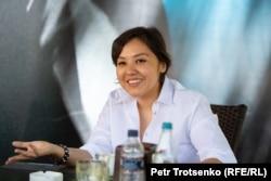 Журналистка и активистка движения «Oyan, Qazaqstan» Асем Жапишева. Алматы, 31 мая 2020 года.