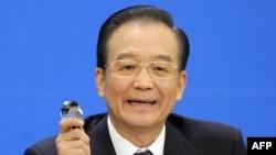 Қытай премьер-министрі Вэнь Цзябао. Бейжің, 14 наурыз 2012 жыл.