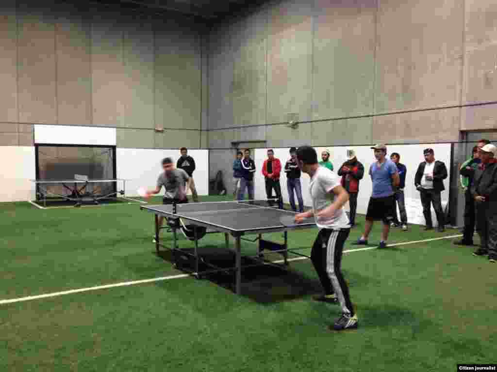 Лучшим по настольному теннису признали Тынчтыка Ажибаева из Нью-Йорка