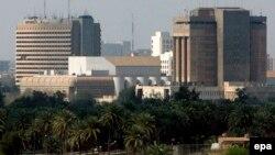 منظر عام للمنطقة الخضراء ببغداد