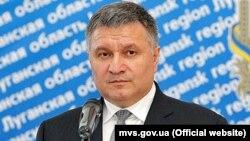 Арсен Аваков, Украина ішкі істер министрі.