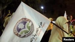 Pristalice Partije slobode i pravde, koju je osnovalo Muslimansko bratstvo, Kairo, novembar 2011.