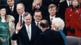 Президентская инаугурация Джорджа Герберта Уокера Буша 20 января 1989 года