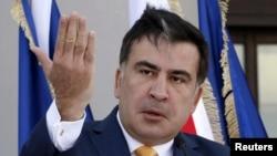 Претседателот на Грузија, Михаел Саакашвили
