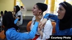 گریه عضو تیم کاراته ایران در اندونزی پس از حذف