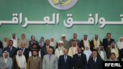 المشاركون في مؤتمر جبهة التوافق العراقي في بغداد، 17 تشرين الأول 2009