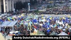 Киев. Майдан. Митинг предпринимателей против Налогового кодекса