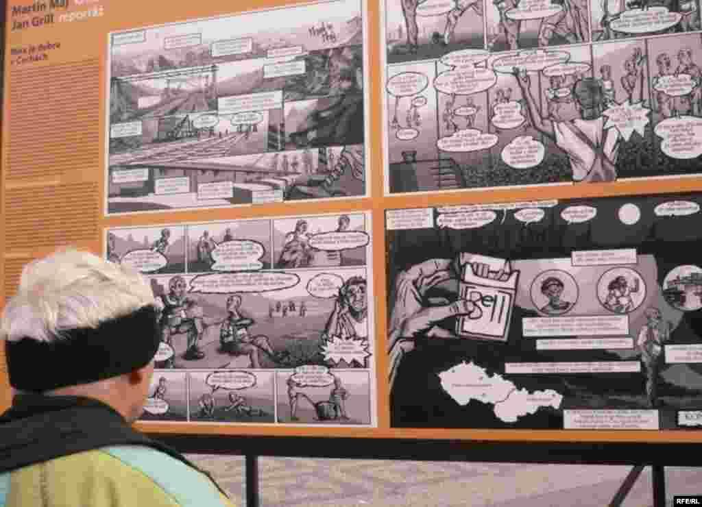 Мартін Май – серія коміксів «Мені в Чехії добре: словацькі роми на чеських будовах» - 9