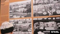 «Czech Made ?» - виставка коміксів про роботу іноземців у Чехії. Прага, площа Республіки.