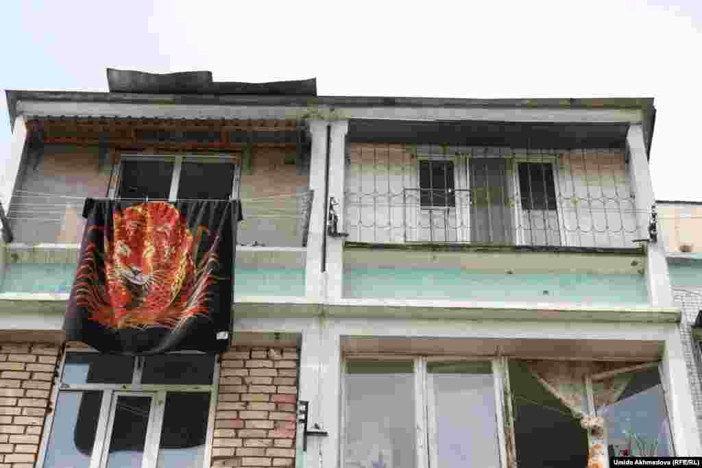 Жилой дом на улице Кипчак.