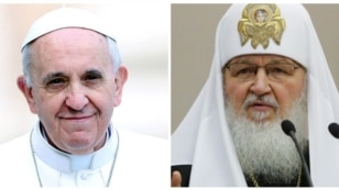 Papa Francisc şi Patriarhul Rusiei Kiril