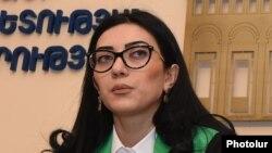 Министр юстиции Армении Арпине Ованнисян (архив)