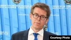 """Human Rights Watch"" guramasynyň Ýewropa we Merkezi Aziýa boýunça müdiri Hugh Williamson"