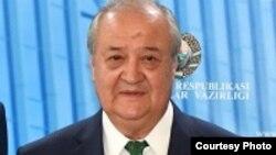 د ازبکستان د بهرنیو چارو وزیر عدالعزیز کاملوف