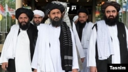 A Taliban delegation headed by Mullah Abdul Ghani Baradar visited Tehran on 16 Septemeber 2016. FILE PHOTO