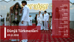 "Türkmen jemgyýetinde ""galyň"" salgydyny tölemek däbi saklanyp galýar"