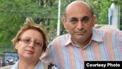 Азербайджанские правозащитники Лейла Юнус (слева) и Ариф Юнус.