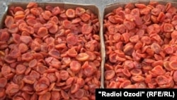 Сухофрукты на севере Таджикистана снизились в цене