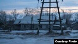 Затопленное село в Восточно-Казахстанской области. (Иллюстративное фото.)