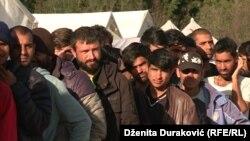 Izbjeglice i migranti u kampu Vučjak, ilustrativna fotografija