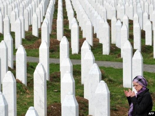 Memorijalni centar na žrtve genocida u Srebrenici 1995,  Potočari, 31 mart 2010