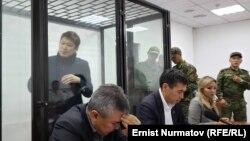 Сапар Исаков в зале суда. 2019 год.