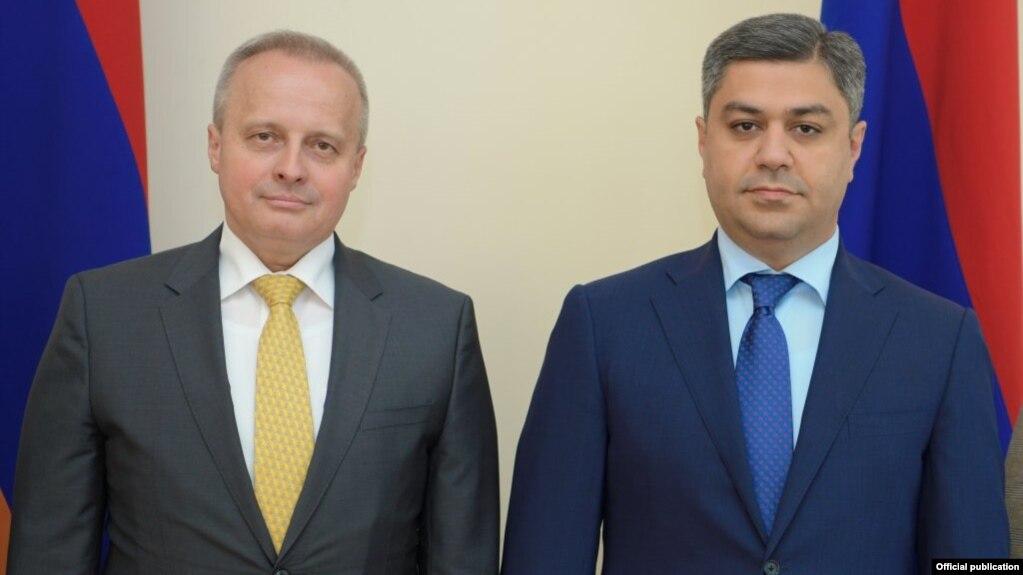Директор СНБ Армении принял посла России