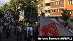 Protestna šetnja ulicama Novog Sada