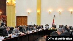 إجتماع المالكي مع رؤساء مجالس المحافظات