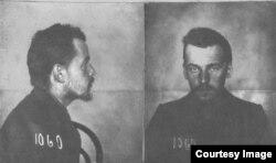 Владимир Костицын под арестом, 1907