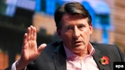 "IAAF President Sebastian Coe described the WADA report as a ""shameful wake-up call."""