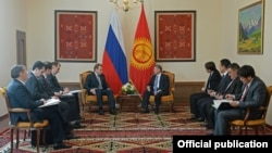 Бишкекте өткөн кыргыз-орус жолугушуусу, 29-март 2013.