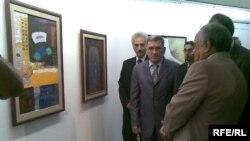 ماهر الحديثي وزير الثقافة العراقية في اسبوع الثقافي العراقي في القاهرة