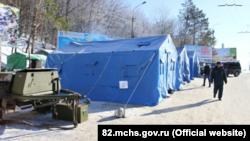 Пункты обогрева в Крыму, архивное фото
