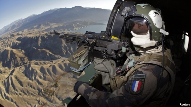 According to reports, French helicopters attacked a base of the al-Shabab Islamist movement early on January 12. (file photo)