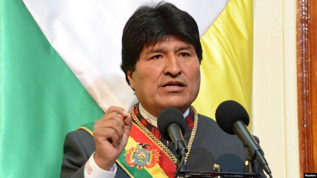 Боливия президенти Эво Моралес ўз истеъфосини эълон қилди