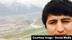 Tajikistan -- Ruhulloh Tillozoda, son of Muhiddin Kabiri, 26Oct2015