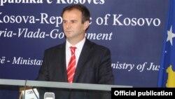 Ministri i Drejtësisë, Hajredin Kuçi