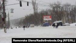 Багато київських вулиць, по яких зазвичай рухається громадський транспорт, стали пішохідними